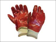 Scan SCAGLOPVCKW - PVC Knitwrist Glove