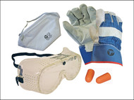 Scan - Safety Kit (Gloves Goggles Plugs Mask)
