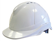 Scan SCAPPESHSUPW - Superior Safety Helmet White Ratchet Adjustment