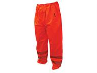 Scan SCAWWHVMTMO - Hi-Vis Motorway Trouser Orange - M (34-36in)