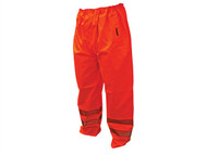 Scan SCAWWHVMTXO - Hi-Vis Motorway Trouser Orange - XL (42-44in)
