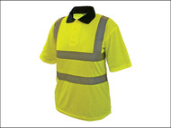 Scan SCAWWHVPSXL - Hi-Vis Yellow Polo Shirt - XL