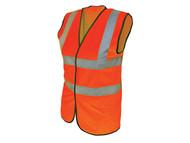 Scan SCAWWHVWLO - Hi-Vis Waistcoat Orange - L (42-44in)