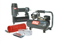 Senco SENPC0964UK1 - Finish Pro 18 Pneumatic Nailer & 1 HP Compressor Kit 110 Volt