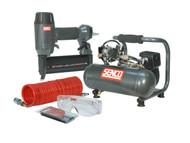Senco SENPC0964UK2 - Finish Pro 18 Pneumatic Nailer & 1 HP Compressor Kit 240 Volt