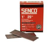 Senco SENRX13EAA - Straight Brad Nails Galvanised 16G x 25mm Pack 2,000