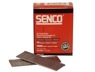 Senco SENRX19EAA - Straight Brad Nails Galvanised 16G x 45mm Pack 2,000