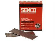 Senco SENRX21EAA - Straight Brad Nails Galvanised 16G x 50mm Pack 2,000