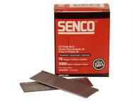 Senco SENRX23EAA - Straight Brad Nails Galvanised 16G x 55mm Pack 2,000
