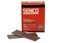 Senco SENRX25EAA - Straight Brad Nails Galvanised 16G x 63mm Pack 2,000