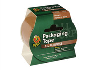 Shurtape SHU222180 - Duck Tape Packaging 50mm x 25m Brown