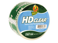 Shurtape SHU222181 - Duck Tape Packaging Heavy-Duty 50mm x 25m Clear