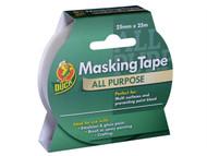 Shurtape SHU232147 - Duck Tape All Purpose Masking Tape 25mm x 25m