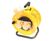 SMJ - Basix Cable Reel 25 Metre (1.5 mm Cable) 16A 110 Volt