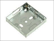 SMJ SMJMBB16S - Metal Box Single 16mm Depth - Loose