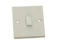 SMJ SMJPPLS1G2W - Lightswitch 1 Gang 2 Way 10Amp