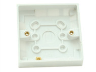 SMJ SMJPPPT19SG - Surface Pattress Box Single 19mm Depth