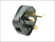 SMJ SMJRP13BC - Black 13A Fused Heavy-Duty Rubber Plug
