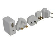 SMJ SMJTAUSBC - Worldwide Travel USB Adaptor, Charger Kit