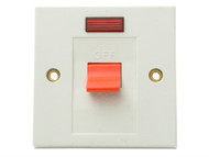 SMJ SMJW30SNC - Flush DP Switch & Neon 30A