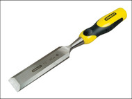 Stanley Tools STA016881 - Dynagrip Bevel Edge Chisel with Strike Cap 32mm (1 1/4in)