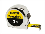 Stanley Tools STA033522 - Powerlock Classic Tape 3m (Width 19mm)