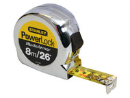 Stanley Tools STA033526 - Powerlock Rule Blade Armor 8m / 26ft (Width 25mm)