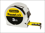 Stanley Tools STA033552 - Powerlock Classic Tape 5m (Width 19mm)