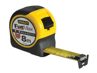 Stanley Tools STA033868 - FatMax Blade Armor Magnetic Tape 8m (Width 31.7mm)