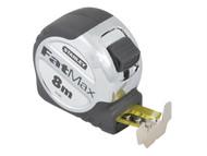 Stanley Tools STA033892 - FatMax Tape Measure 8m (Width 32mm)