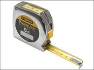 Stanley Tools STA033932 - Powerlock Tape 5m (Width 19mm) Top Reader