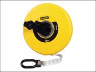 Stanley Tools STA034296 - Closed Case Fibreglass Tape 20m (Width 12.7mm)