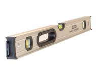 Stanley Tools STA043625 - FatMax Magnetic Box Spirit Level 3 Vial 60cm