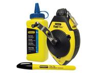 Stanley Tools STA047681 - FatMax Chalk Line Set 30m