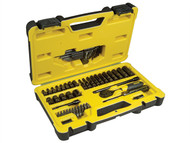 Stanley Tools STA072653 - Tech 3 Socket Set of 66 1/4in Drive
