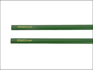 Stanley Tools STA093932 - Masons Pencils for Brick Pack of 2 175mm