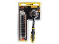 Stanley Tools STA094607 - FatMax Rotator Socket Set of 11 Metric 1/4in Drive