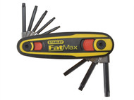 Stanley Tools STA097553 - FatMax Torx Key Locking Set of 8 (T9-T40)