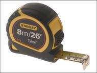Stanley Tools STA130656N - Pocket Tape 8m / 26ft (Width 25mm) Loose