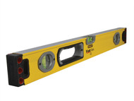 Stanley Tools STA143524 - FatMax Spirit Level 3 Vial 60cm