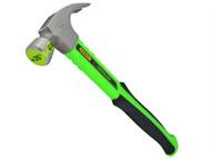 Stanley Tools STA151501 - Hi-Vis Green Rip Claw Fibreglass Hammer 450g (16oz)