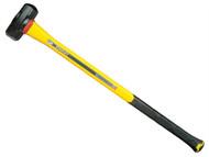 Stanley Tools STA156011 - FatMax Fibreglass Long Handle Sledge Hammer 3.6kg (8lb)