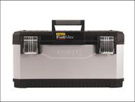 Stanley Tools STA195617 - Metal Plastic Toolbox 66cm (26 in)