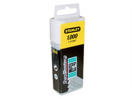 Stanley Tools STA1CT305T - Flat Narrow Crown Staples 8mm CT305T Pack 1000