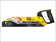 Stanley Tools STA217206 - FatMax PVC & Plastic Saw 300mm (12in) 11tpi