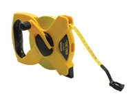 Stanley Tools STA234791 - Open Reel Fibreglass Tape 30m / 100ft (Width 12mm)