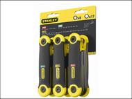 Stanley Tools STA269268 - Hexagon Key Folding Set of 25 Metric Imperial & Torx