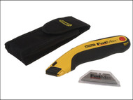 Stanley Tools STA298458 - FatMax Retractable Utility Knife, Holster & Blades