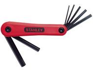 Stanley Tools STA469262 - Hexagon Key Folding Set of 7 Metric (2.5-10mm)
