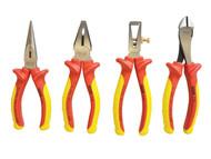 Stanley Tools STA484489 - FatMax VDE Pliers Set 4 Piece